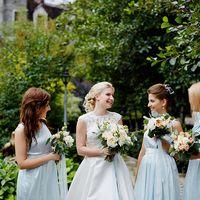 музыкальная свадьба в голубых тонах