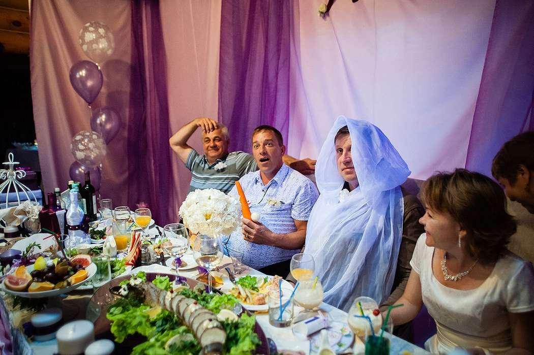 Не обошлось и без выкупа мест молодоженов)))),  ресторан Адмирал город Бор - фото 4516607 Ведущая - Катрин Кузнецова