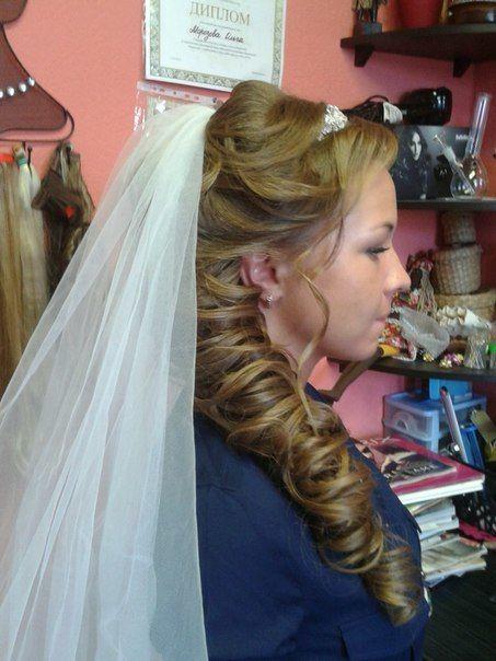 Фото 3435333 в коллекции Мои фотографии - Свадебные прически от Александры Стаматий