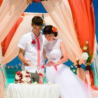 """Свадебная церемония """"Сочный персик"""""""