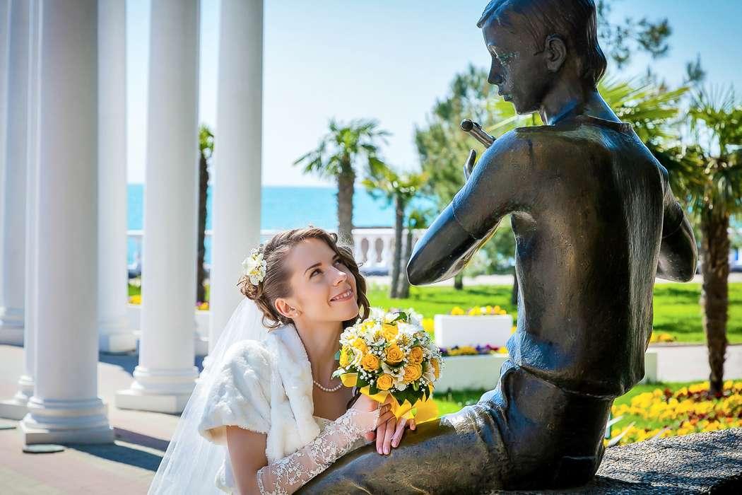 Фотосъемка свадьбы на берегу Чёрного моря в Геленджике. - фото 9020778 Свадебный фотограф Кирилл Бондарев