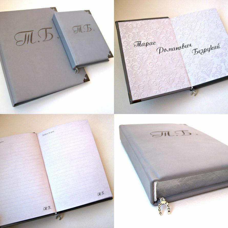 Набор из папки и книги пожеланий