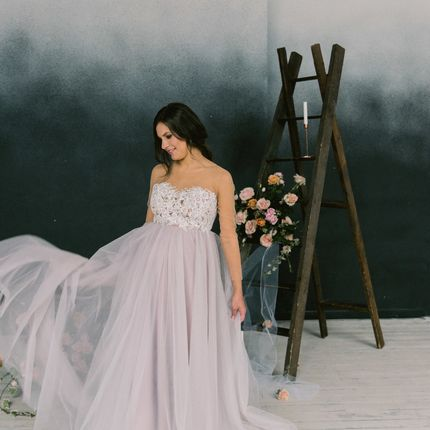 """Свадебное платье для беременных """"Диана"""""""
