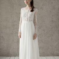 Больше фото:   Свадебное платье «Стефания» Цена: 32 900 ₽  Возможные цвета: - молочный  При отсутствии в наличии нужного размера это платье может быть выполнено в размерах 40, 42, 44, 46, 48, а так же по индивидуальным меркам невесты.  Запись на примерку: