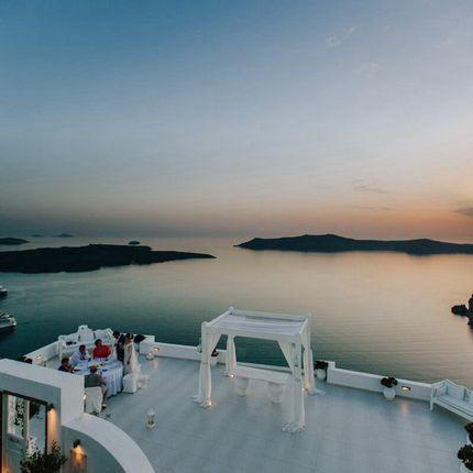 Организация свадьбы на Санторини