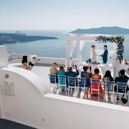 Организация свадьбы на Санторини 2019-2020