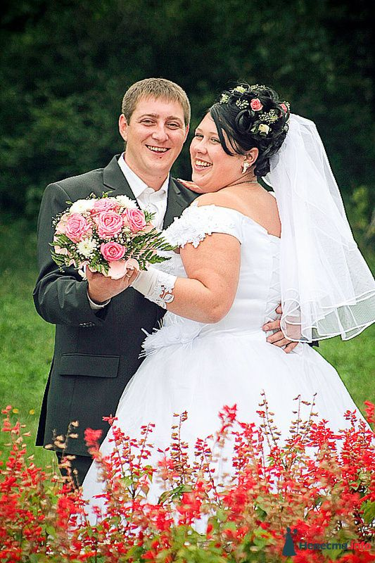 Фото 210707 в коллекции Фотографии со свадеб - Портрет-холл. Студия фотопортрета.