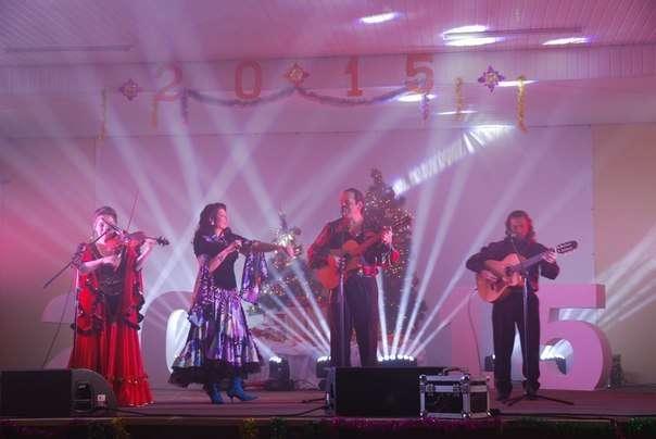"""Фото 6448722 в коллекции Благотворительный концерт, посвящённый Новому году . - Цыганская шоу-группа """"Ан де Форо"""""""