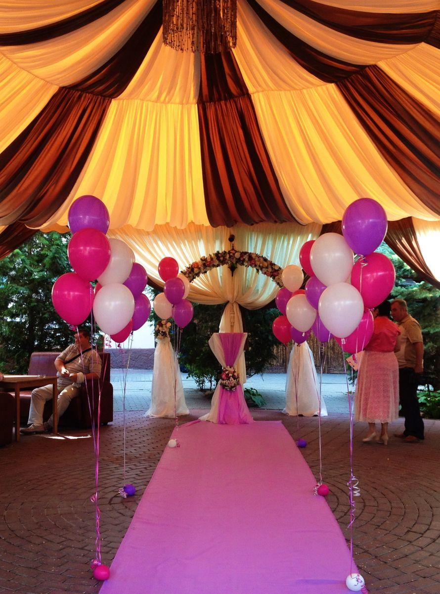 Фонтаны из шаров - фото 3510127 ПроШарим- оформление шарами