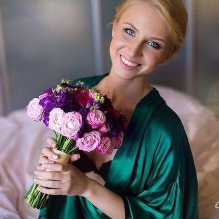 Репетиция макияж и прическа невесты