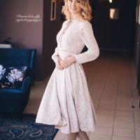 Кружевное платье в винтажном стиле, ориентировочная стоимость подобного 13000-15000 р (в зависимости от используемых материалов)