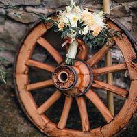 Букет невесты Италия Тоскана