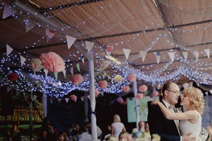Фото гирлянды на свадьбу