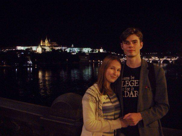 наша первая совместная поездка в Прагу