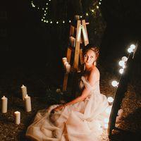 Стильная ночная свадьба Полины и Виталия, 2017
