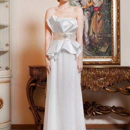 """Свадебное платье """"К-1 Веер"""""""