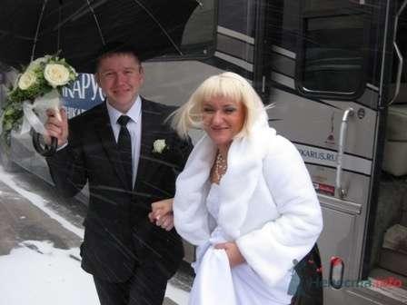 Фото 65085 в коллекции Свадьбы в Шикарусе в любую погоду! - Шикарус - аренда эксклюзивного транспорта
