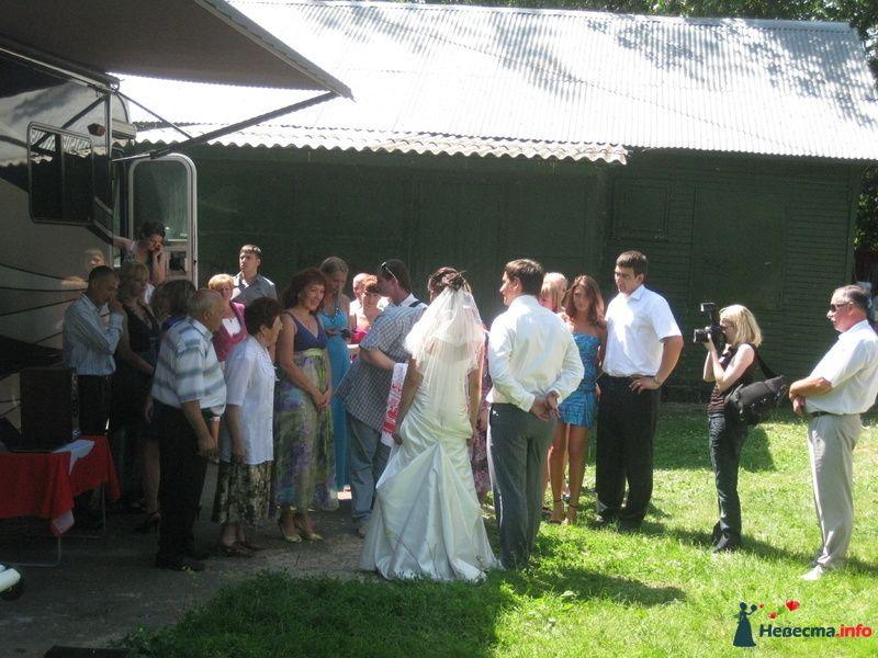 Фото 139453 в коллекции Счастливые свадьбы лета 2010. - Шикарус - аренда эксклюзивного транспорта