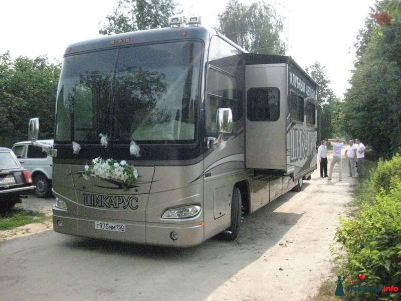 Фото 139457 в коллекции Счастливые свадьбы лета 2010. - Шикарус - аренда эксклюзивного транспорта