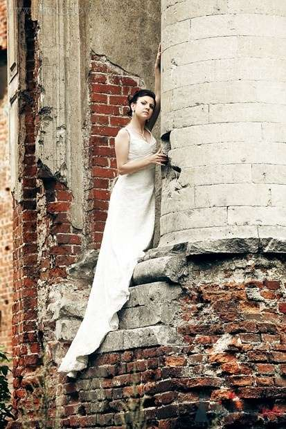 Невеста колонна - фото 59354 Notika