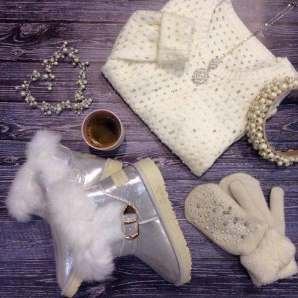 Белые угги