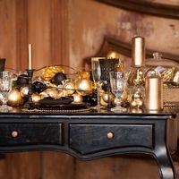 """Стилизованная свадебная съёмка к Новому году """"New year Sparkles""""  - магия черного и блеск золотого!"""