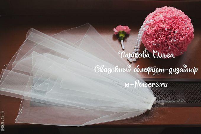 Букет-шар из гвоздик Флорист Пашкова Ольга