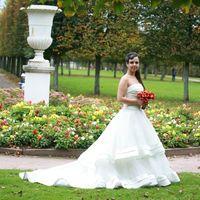 Мария  в платье SOLEA  от групп Pronuptia