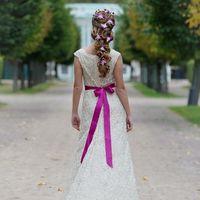 Услуга: свадебный стилист.  Бронируй дату сегодня! Обучение: прически, макияж для себя. Москва 8-925-474-5566