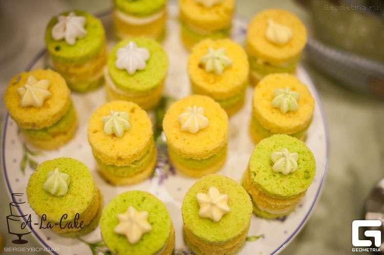 открытые мини тортики - фото 1773365 Надежда Алябьева - свадебные торты