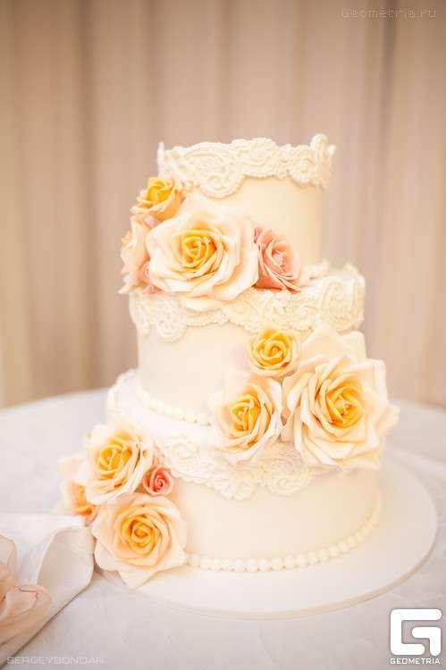 Фото 1773389 в коллекции Candy Bar- маленькие сладости! - Надежда Алябьева - свадебные торты