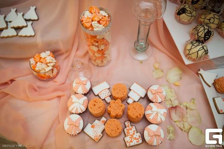 открытые мини тортики - фото 1773395 Надежда Алябьева - свадебные торты