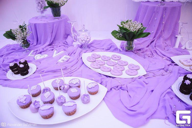 Фото 2507917 в коллекции Candy Bar- маленькие сладости! - Надежда Алябьева - свадебные торты