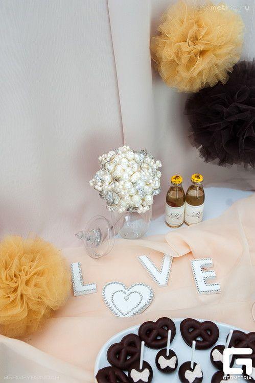 Фото 2507935 в коллекции Candy Bar- маленькие сладости! - Надежда Алябьева - свадебные торты