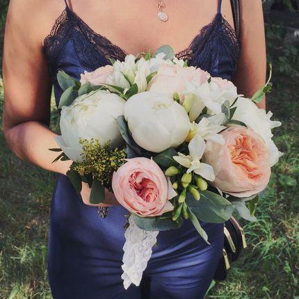 Букет невесты с фрезиями