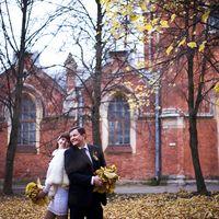 осенняя свадьба, свадьба осенью, короткие свадебные платья