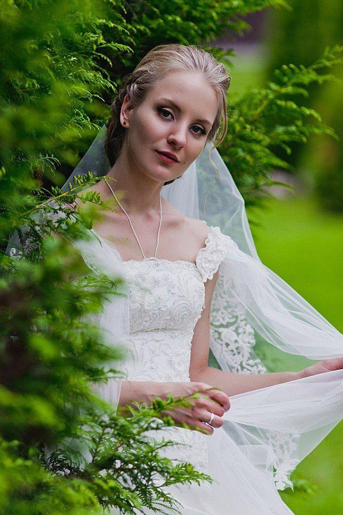 Фото 11302714 в коллекции Свадебные прически и макияж 2015-2016г - Стилист-визажист Марина Ткачева