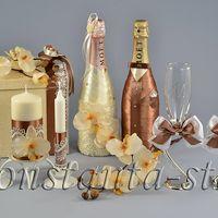 Коллекция аксессуаров в цвете мокко и ваниль