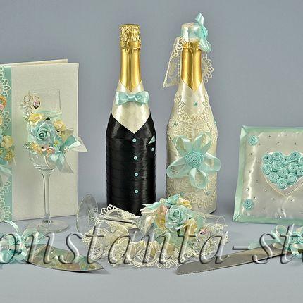Свадебный комплект Мятный аромат