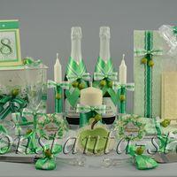 Яблочная коллекция свадебных аксессуаров