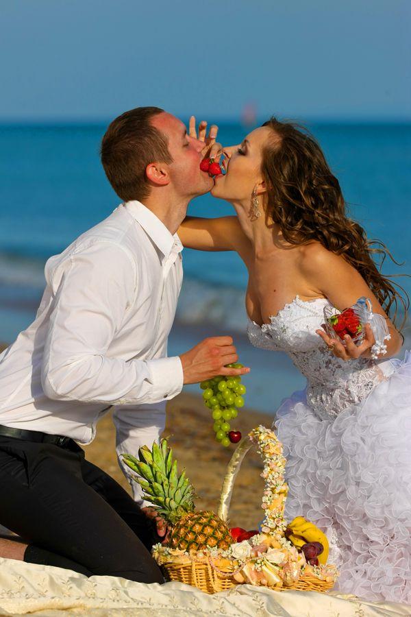 Фото 542966 в коллекции Морская свадебная фотосессия - Фотограф Николай Хорьков
