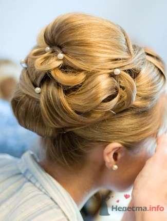 Фото 2213 в коллекции Вечерняя прическа на длинные волосы - Визажист-стилист свадебного образа Лариса Костина