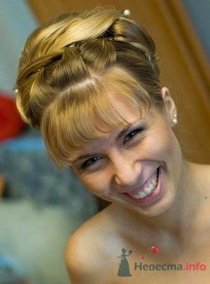 Фото 2214 в коллекции Вечерняя прическа на длинные волосы - Визажист-стилист свадебного образа Лариса Костина