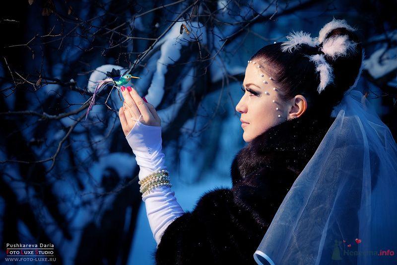 Зимняя Сказка - фото 71822 Визажист-стилист свадебного образа Лариса Костина