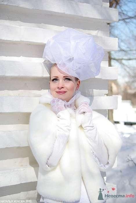 Снежная роза - фото 78641 Визажист-стилист свадебного образа Лариса Костина