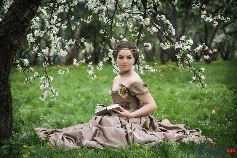 Образ для проекта Вишнёвый сад - фото 97607 Визажист-стилист свадебного образа Лариса Костина