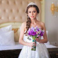 Прическа и макияж Невесты - стилист Лариса Костина
