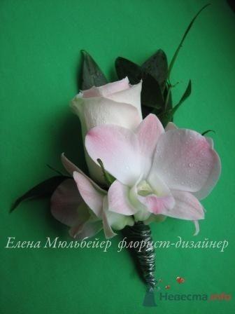 Бутоньерка - фото 30709 Цветочная мастерская Флорины