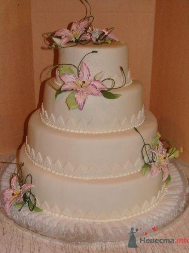 Торт Нежная орхидея