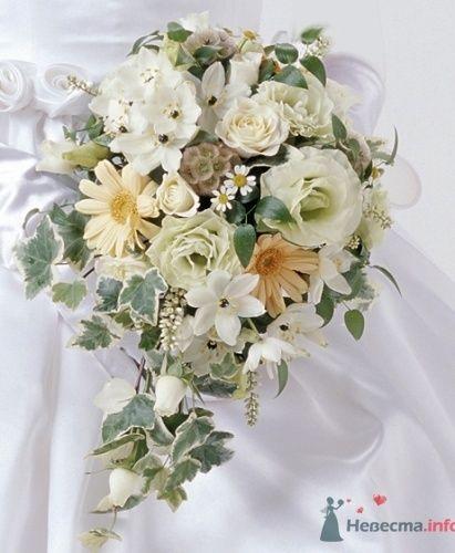Букет невесты в зеленых тонах.  - фото 565 пусик